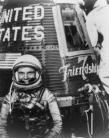 Image result for john glenn friendship 7
