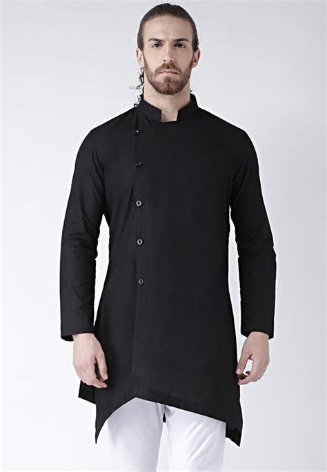 plain cotton kurta  black mht