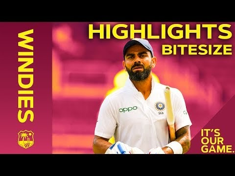 Windies vs India 2nd Test Day 1 2019
