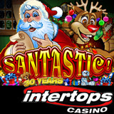 New Santastic Online Slot with Festive Feast Bonus Game Begins a Great Holiday Season at Intertops Casino