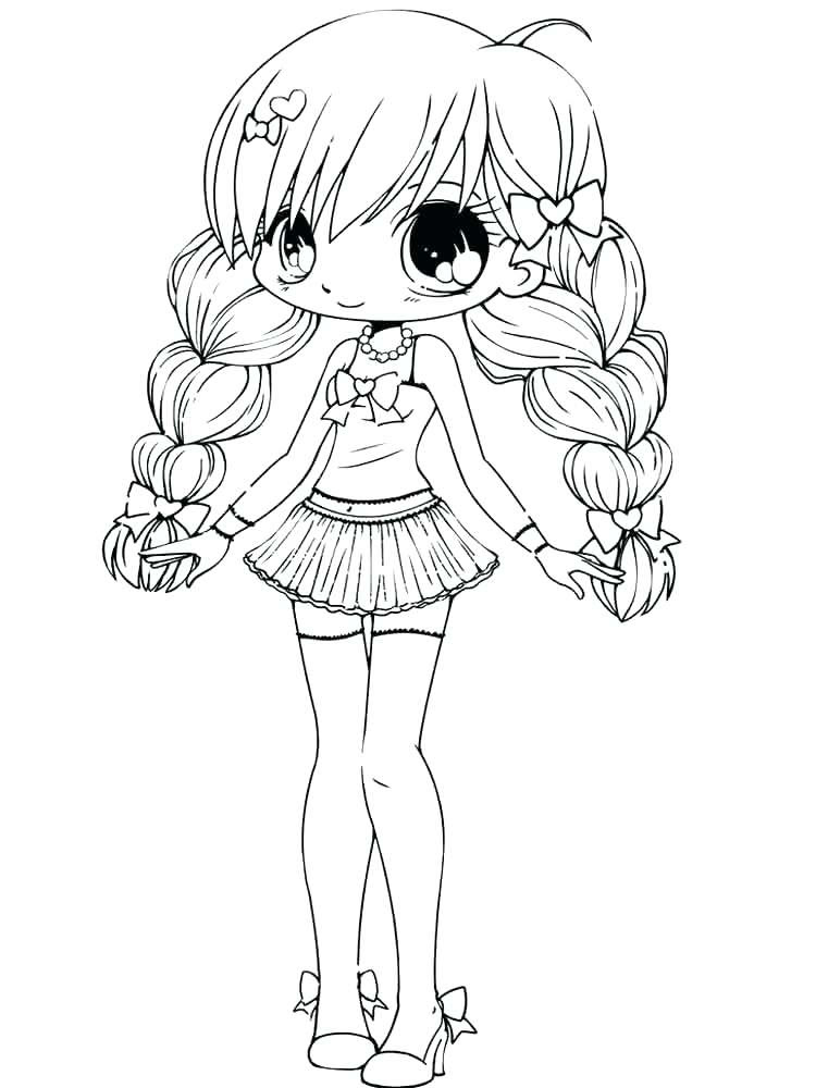 Chibi Wolf Coloring Pages at GetColorings.com | Free ...
