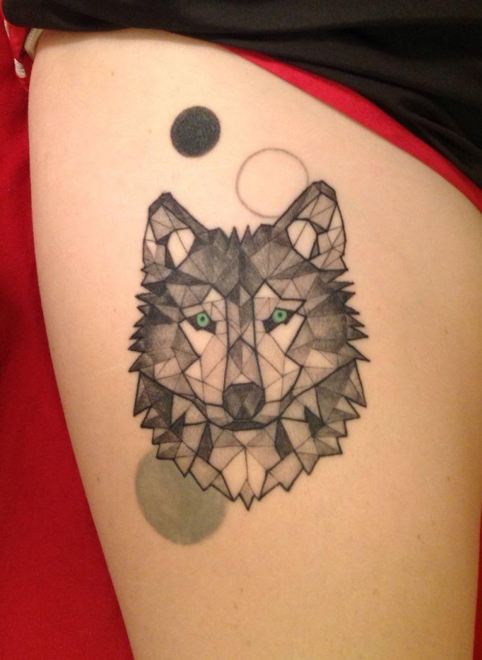 Geometric Tattoo Fox Ideas Yo Tattoo