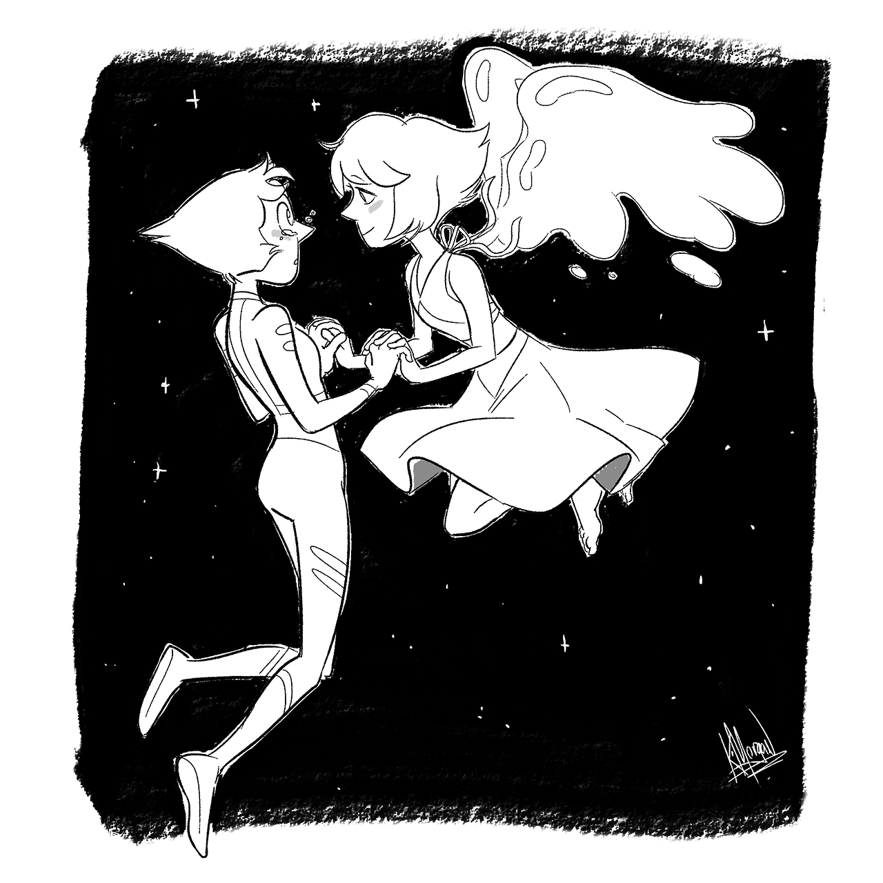 For the last day of @pearlapisbomb Thank you to everyone who participated and shared all the lovely art and fic!