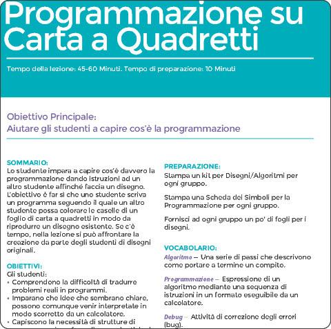 http://www.programmailfuturo.it/media/docs/Lezione-04-Programmazione-su-carta-a-quadretti.pdf