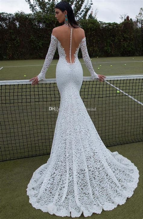 Full Lace Long Sleeve Wedding Dresses 2017 Berta Bridal