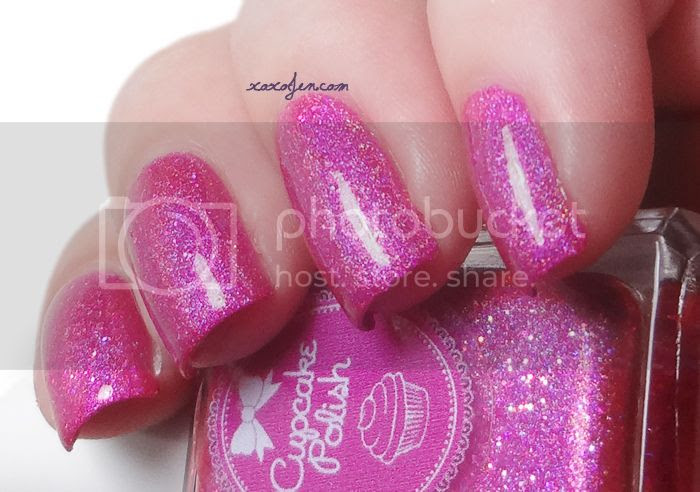 xoxoJen's swatch of Cupcake Polish Fight Like a Girl