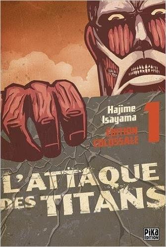Couverture L'Attaque des Titans, triple, tome 1
