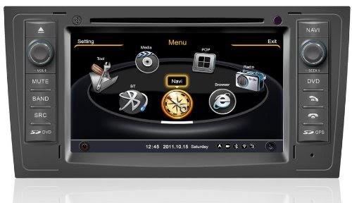 acheter autoradio gps europe cran tactile 7 lecteur dvd bluetooth usb audi a6 meilleur. Black Bedroom Furniture Sets. Home Design Ideas