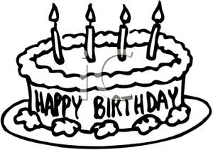 28 Collection Of Birthday Cake No Candles Clipart Cake
