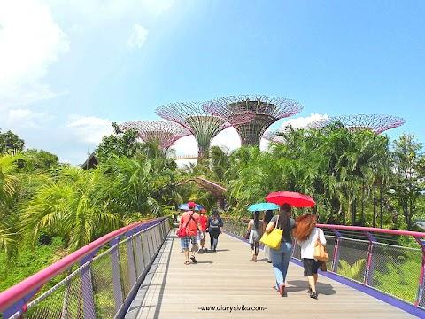 Tiga Hari Bersama Keluarga di Singapore