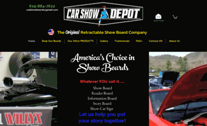 Showcarboardzcom Website Boards Car Show Display Ideas Custom