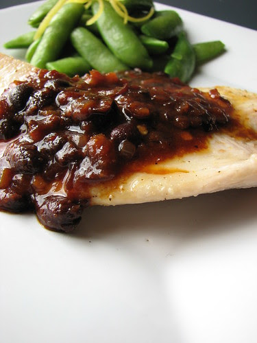 Tilapia with Spicy Black Bean Sauce II