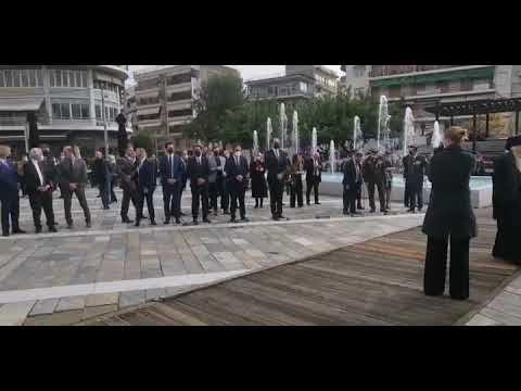 Βιντεο-Απελευθέρωση της Βέροιας κατάθεση στεφάνων