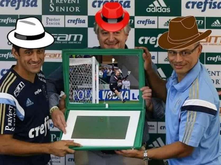 Falha de Rogério Ceni rende inúmeros memes na web; veja Foto: Facebook