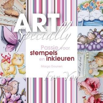 Boek - ArtSpecially - Passie voor stempels en inkleuren