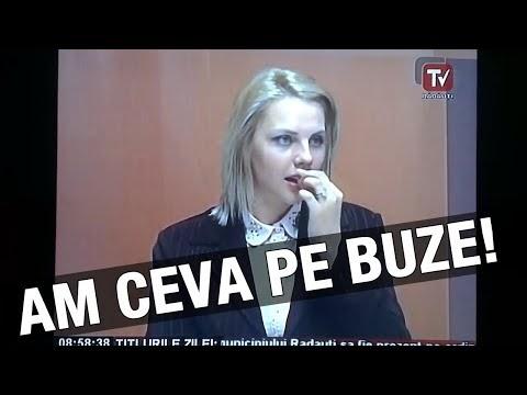 VIDEO Gafă penibilă a prezentatoarei de la TV Rădăuţi
