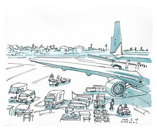 TokyoInternationalAirport. by yamasakki