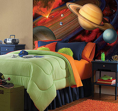 Outer Space Wallpaper Borders For Kids