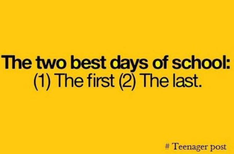 Best Days Of My School Life Funny Pictures Quotes Memes Funny