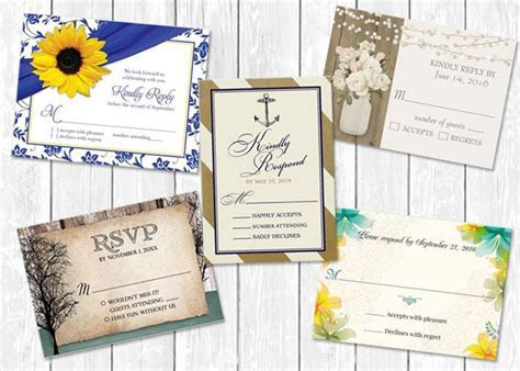 "What does the ""M"" mean on RSVP cards?"