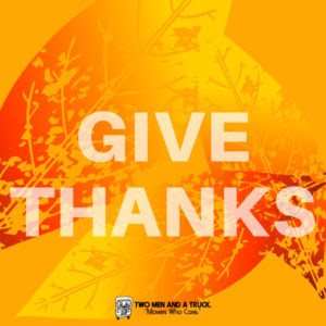 Tis The Season To Be Thankful What Are You Thankful For Movers