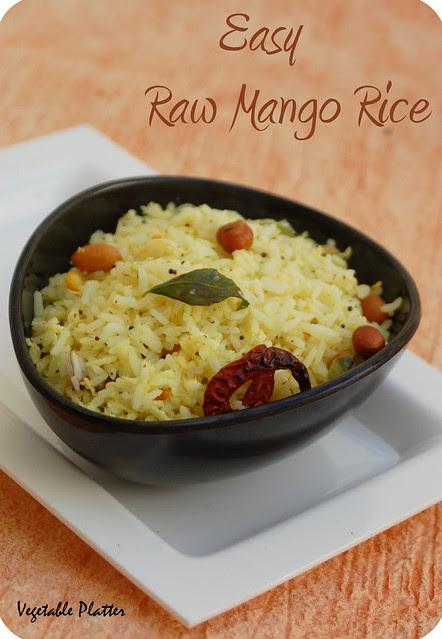 Easy Raw Mango Rice