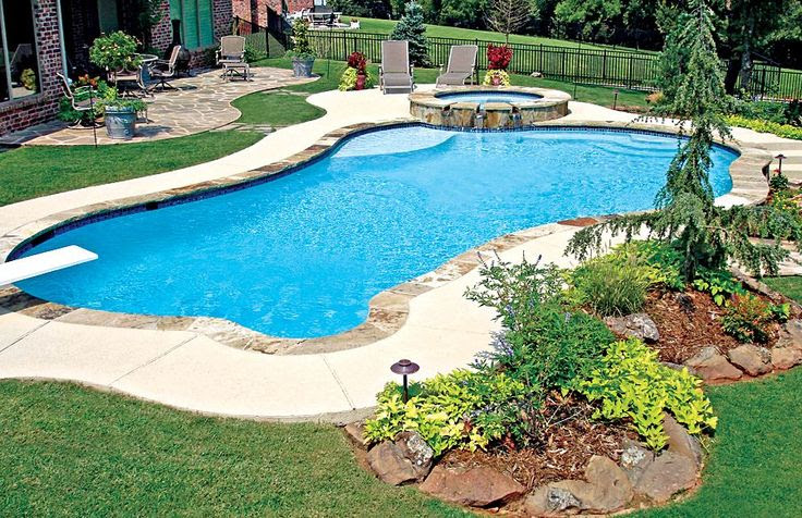 Flat Rock Pool Landscaping