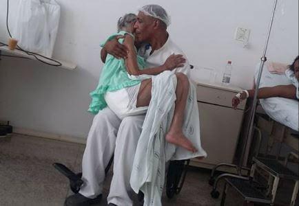 Maqueiro solidário em hospital de Salvador(BA)