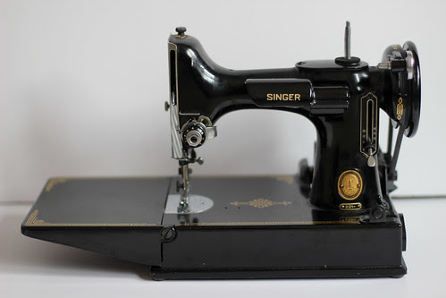 Singer Featherweight 221 by Jeni Baker
