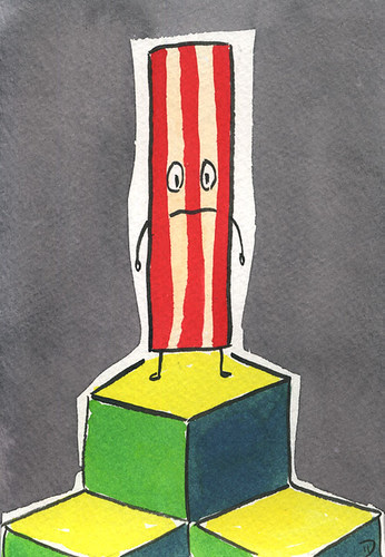Shaky on the Q*Bert Board