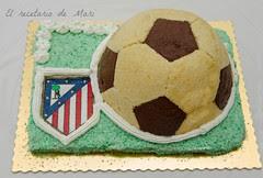 tarta balón de futbol 1
