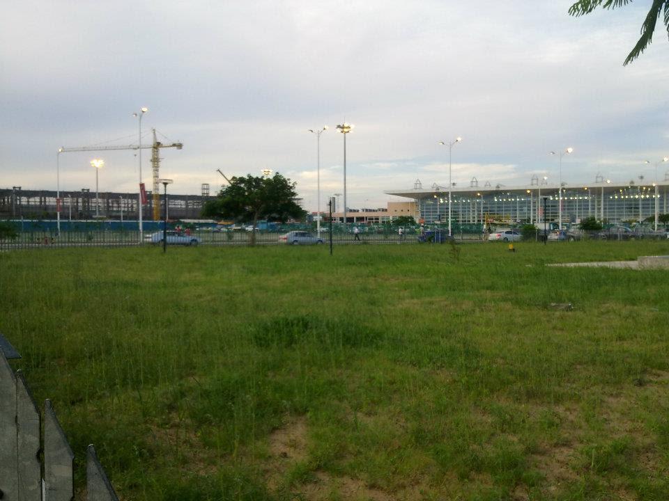Construction Maputo Airport Domestic Terminal