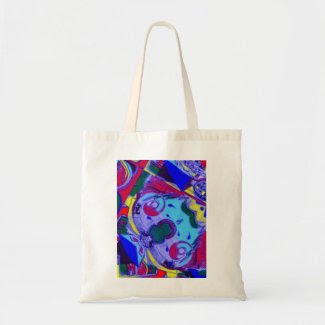 Abstract Art Budget Tote