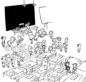Dibujo de Sempé