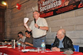 Enthusiastic launch of 'Reformism or revolution' in Mexico