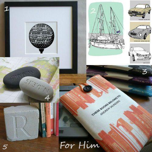 Letterfest Christmas Gift Ideas For Him