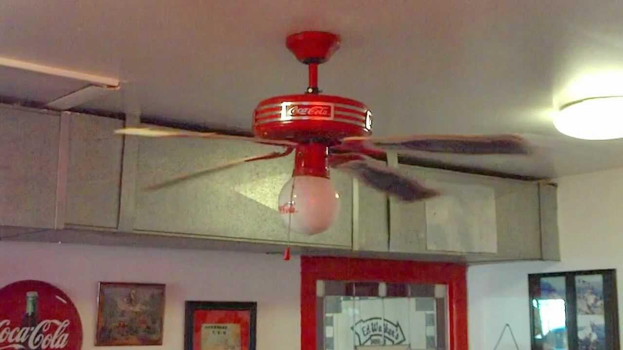 44 Coca Cola Ceiling Fan You