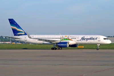 Yakutia Airlines (Yakutia Aircompany) Boeing 757-256 WL VQ-BCK (msn 26245) (Yakutsk 2012 Children of Asia) LGG (Rainer Bexten). Image: 908339.