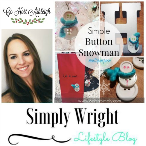 Simply Wright-Simple-Button-Snowman