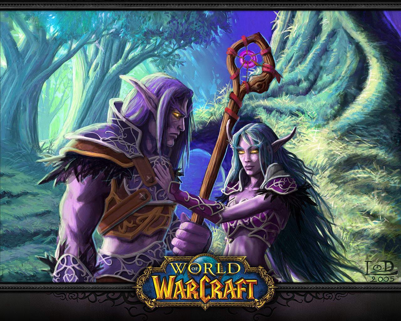 World Of Warcraft Night Elf Wallpaper Sf Wallpaper