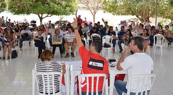 Docentes da Uern decidem apoiar greve geral no RN a partir do dia 11 de novembro (Foto: Divulgação Aduern).