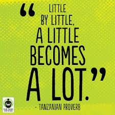 Every little bit can help