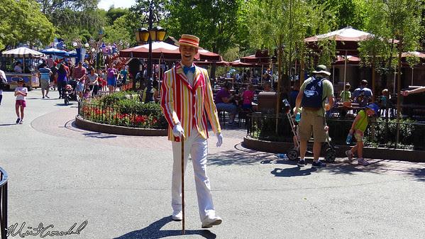 Disneyland, Fantasyland, Bert