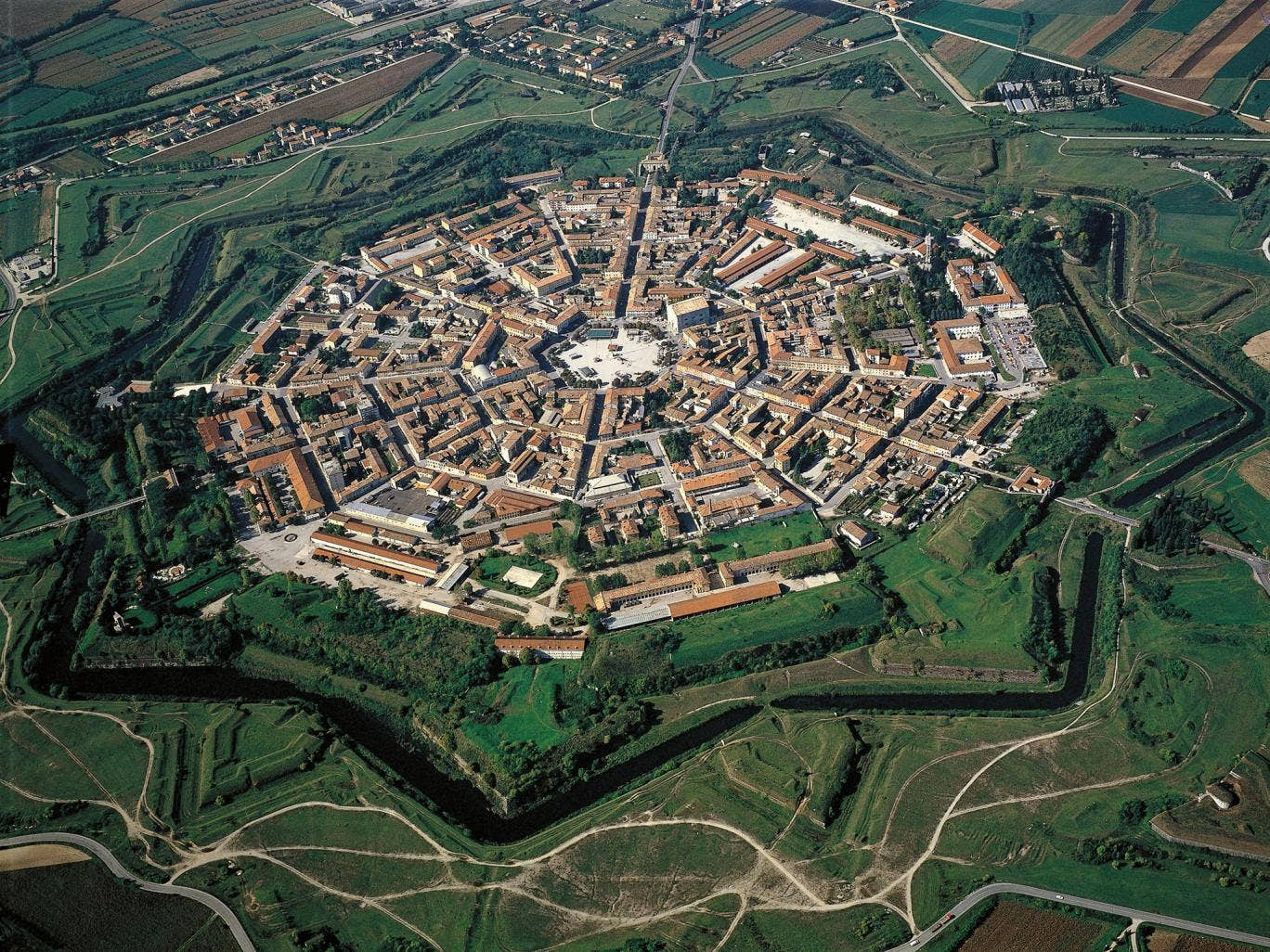 The Italian city of Palmanova was founded as an idealistic citadel in 1593 – but nobody wanted to live there
