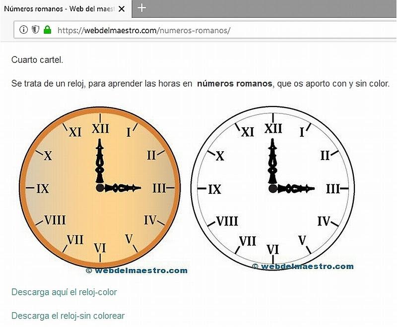 En Relojes Iv O Iiii Y Del Iv Al Viii Normal O De Cabeza El