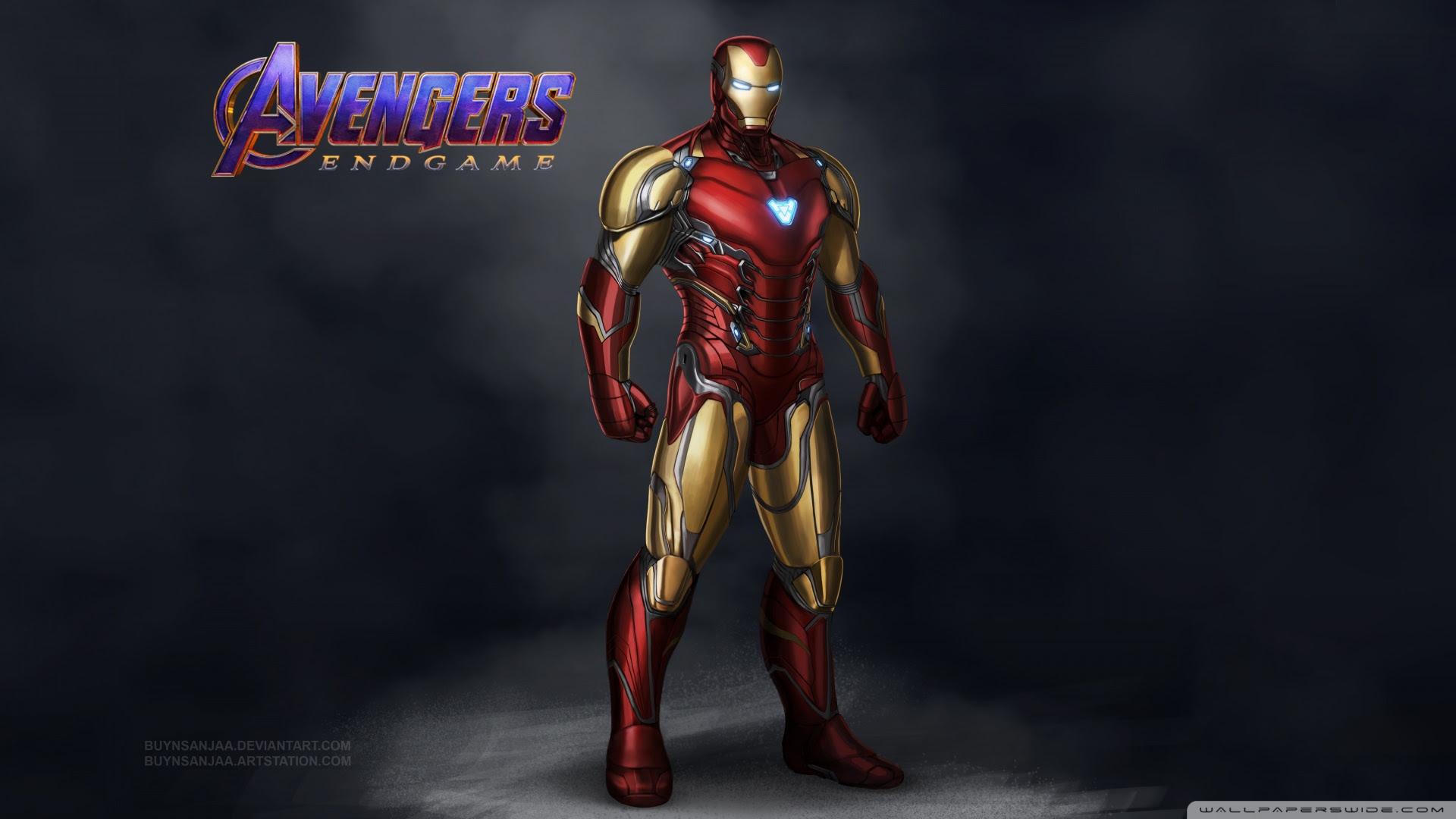 Avengers Endgame Iron Man Mark 85 Ultra Hd Desktop Background