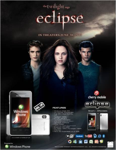 Cherry Mobile Eclipse feautures Dual SIMs, Twilight integration