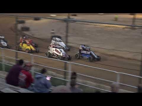 Jackson County Speedway | 7/9/21 | USAC Midwest Thunder Midgets | Heat 2