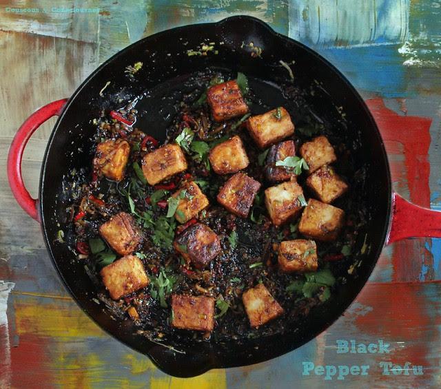 Black Pepper Tofu 1