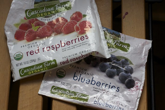 Cascadian Farms, frozen organic berries